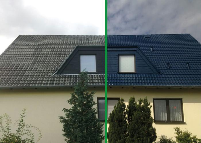 Dachreinigung Limburg und Dachbeschichtung Limburg